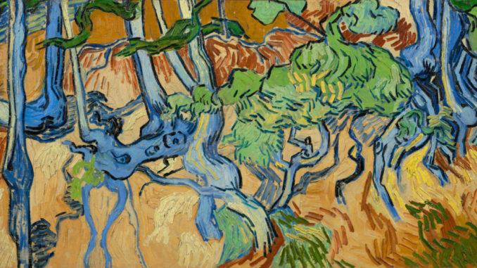 Tres raíces - Vincent Van Gogh